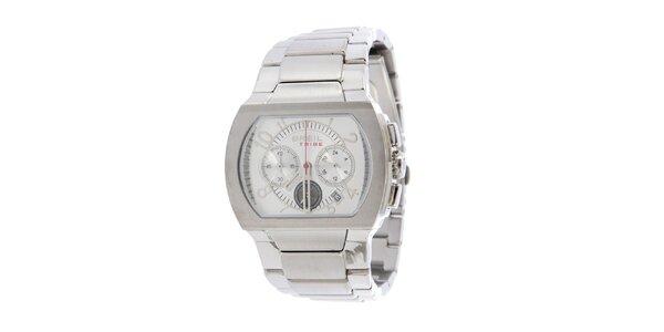 Dámské stříbrné analogové hodinky Breil