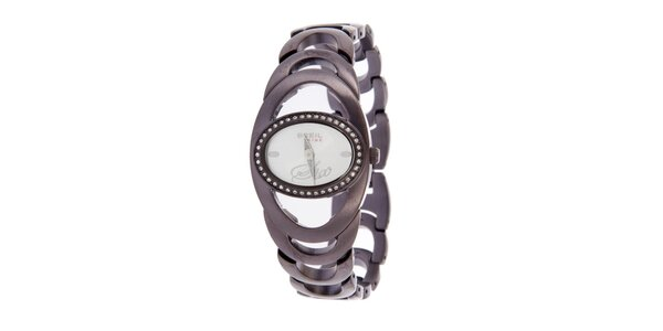 Dámské fialové hodinky Breil