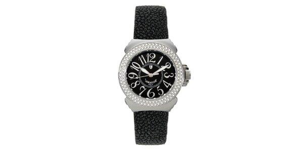 Dámské analogové hodinky Lancaster s černým displejem