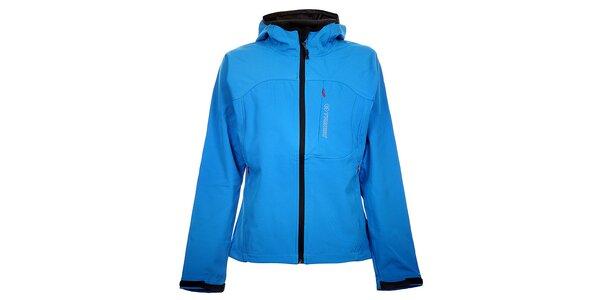 Dámská světle modrá softshellová bunda Trimm Berga