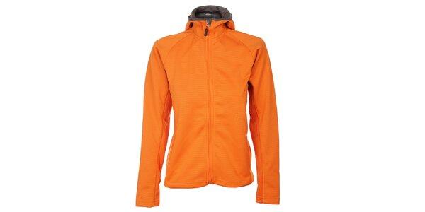 Dámská sytě oranžová softshellová bunda Trimm Shelton