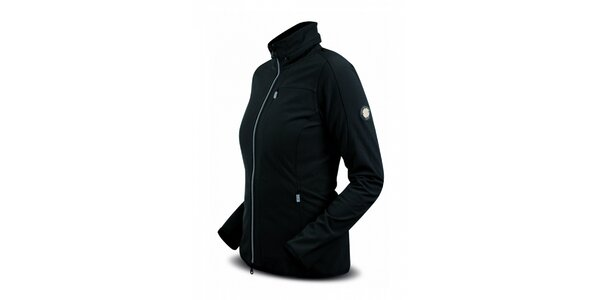 Dámská černá softshellová bunda Trimm Line