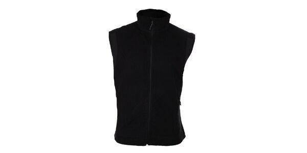 Pánská černá softshellová vesta Trimm Drill