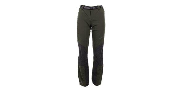 Dámské strečové khaki kalhoty Trimm