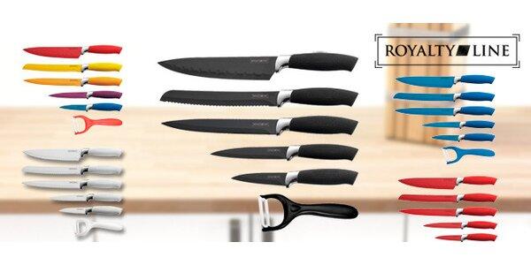 Sada nožů Royalty Line v pestrých barvách