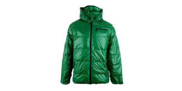 Pánská zelená péřová bunda Authority