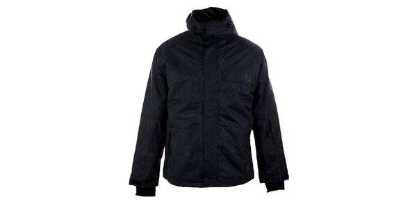 Pánská černá funkční bunda s žíháním Authority