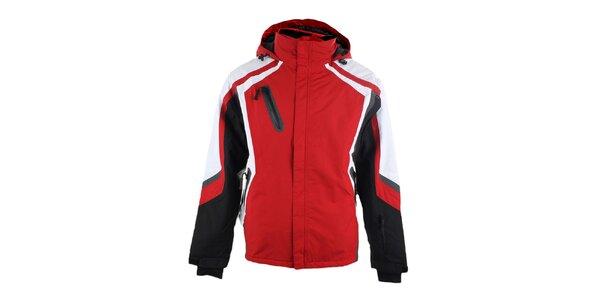 Pánská červená zimní bunda Authority