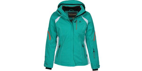 Dámská zelená lyžařská bunda Bergson