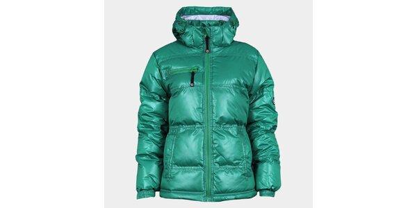 Dámská zelená zimní bunda Sweep