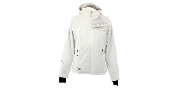 Dámská bílá funkční zimní bunda Hannah