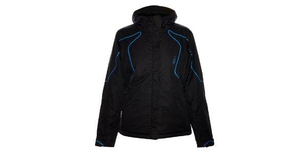 Dámská černá lyžařská bunda Loap