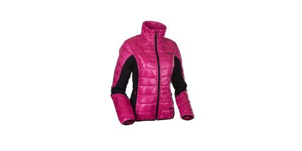 Dámská růžová lesklá bunda Envy