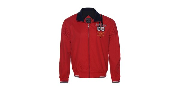 Originální pánská červená bunda Giorgio di Mare