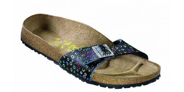 Dámské ortopedické pantofle Papillio s puntíkovaným vzorem