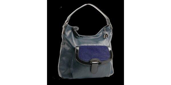 Dámská tmavě modrá kabelka Bulaggi