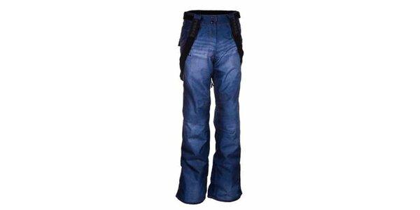 Dámské modré snowboardové kalhoty Envy