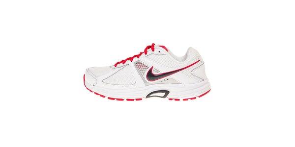 Dámské bílé běžecké boty Nike Dart 9 s růžovými detaily