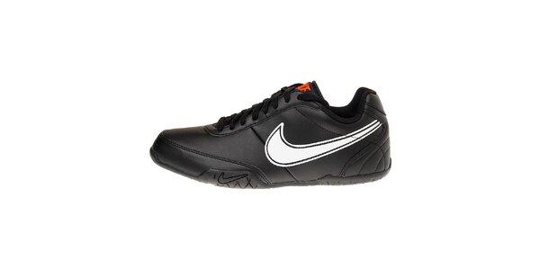 Pánské černé tenisky Nike T77 Lite s bílým logem