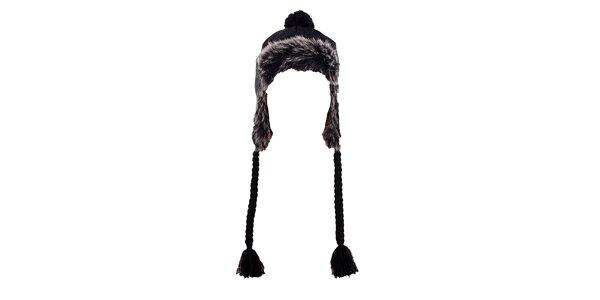 Dámská čepice s kožíškem Fundango