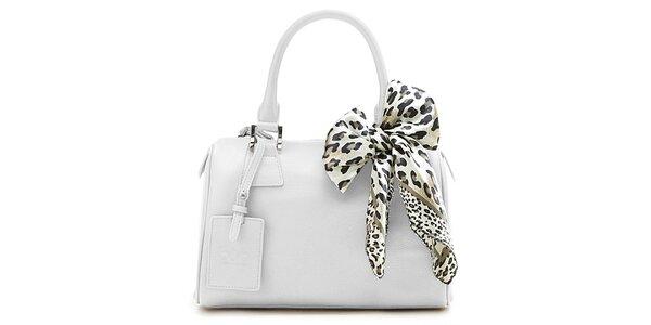 Bílá kufřiková kabelka Belle&Bloom