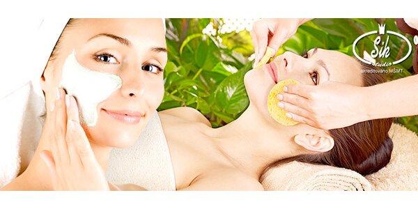 60minutové kosmetické ošetření vč. zábalu na ruce