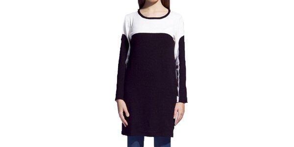 Dámské černo-bílé šaty Lanti
