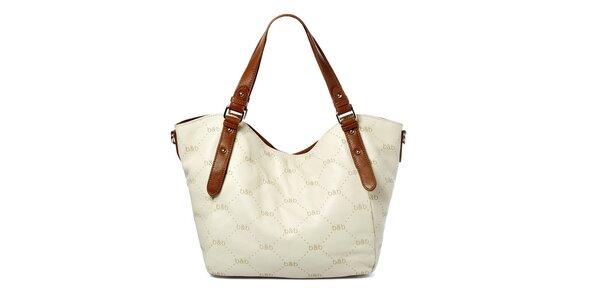 Elegantní bílá kabelka Belle&Bloom