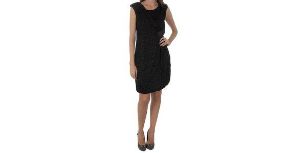 Dámské černé šaty Naf Naf