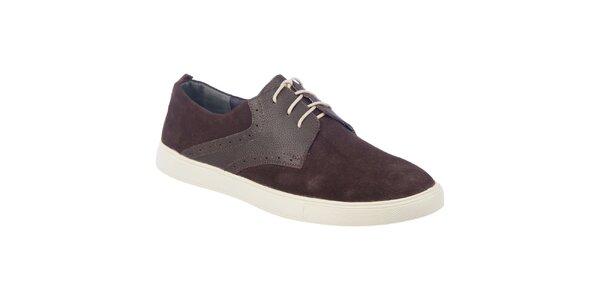 Pánské hnědé boty Tesoro