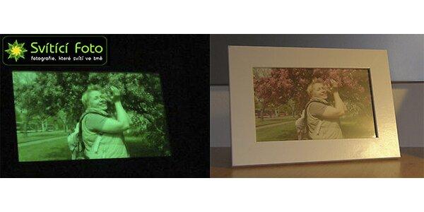 Svítící fotografie - formát 10x15