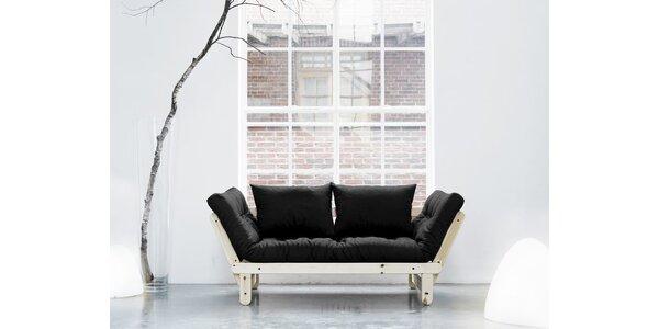 Rozkládací sofa KARUP BEAT PINE/GRAY