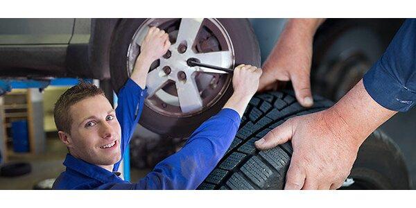 Přezutí sady pneumatik v Plzni