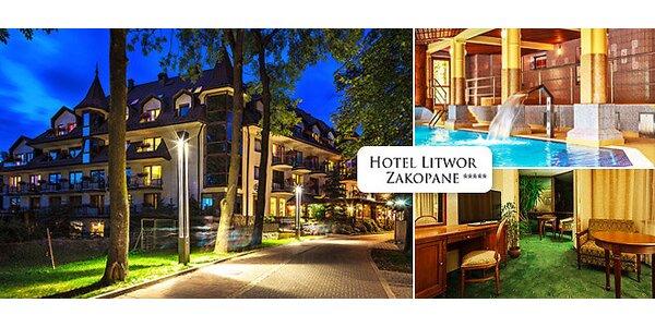 Luxusní pobyt pro dva v 5* hotelu Litwor Zakopané