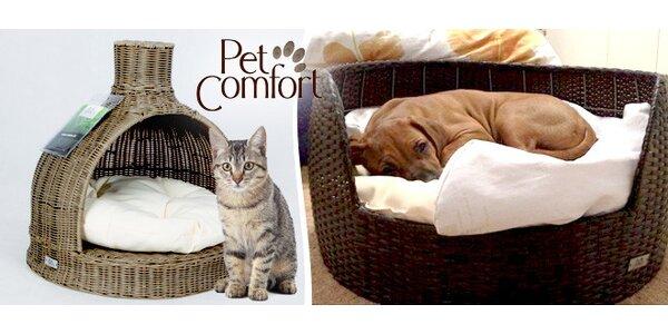 Designové pelíšky Pet Comfort pro kočky a psy