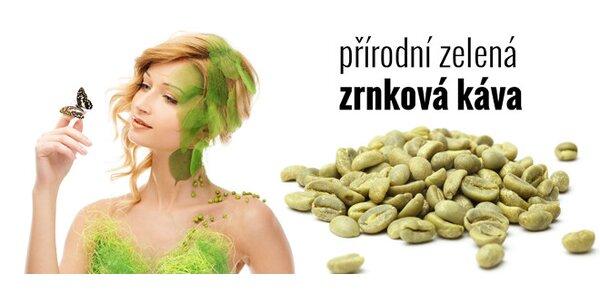 Zelená zrnková káva 0,5 kg – trend v nutričním světě