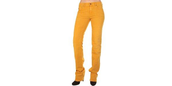 Dámské hořčicově žluté džíny Diesel