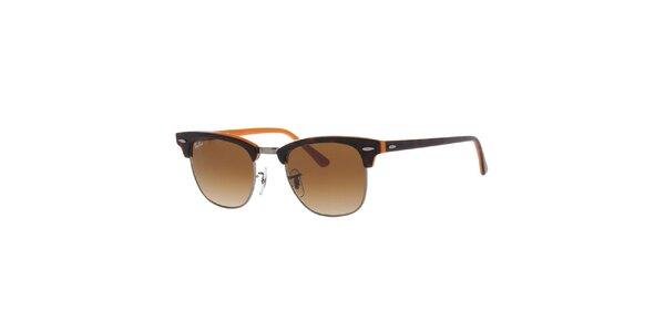 Sluneční brýle s hnědými skly Ray-Ban