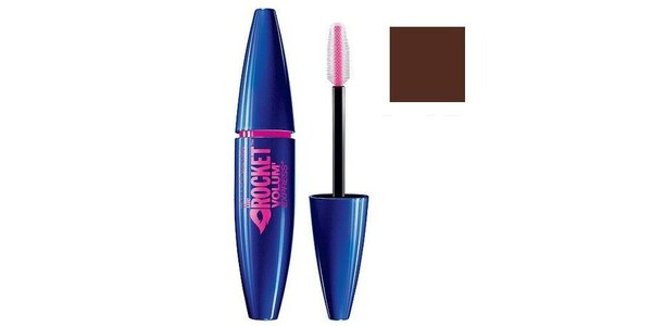 Maybelline volume express The Rocket, hnědá řasenka 9,6ml