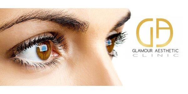 Plastická úprava víček na Glamour Aesthetic Clinic