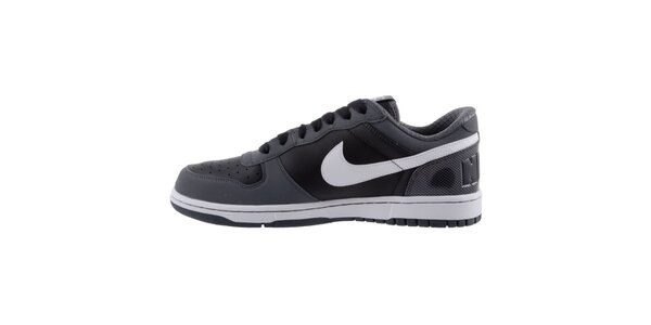 Pánské šedo-černé tenisky s bílými prvky Nike
