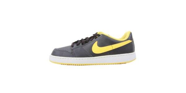 Pánské černé tenisky se žlutými prvky Nike