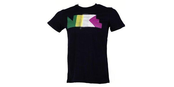 Pánské černé tričko s krátkým rukávem Nike