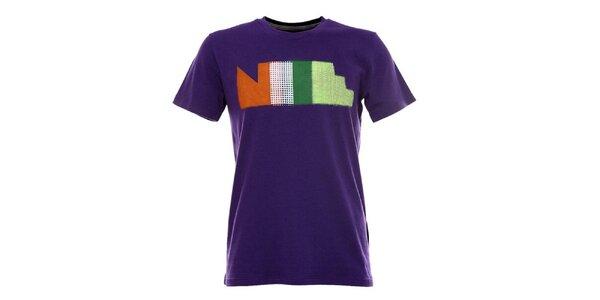 Pánské fialové tričko s krátkým rukávem Nike