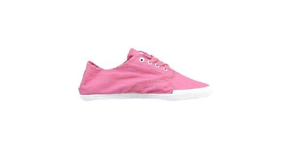 Dámské plátěné růžové boty Puma