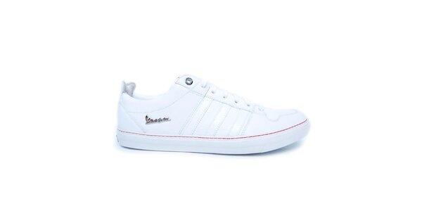 Dámské bílé prošívané tenisky Adidas