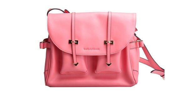 Světle růžová kabelka Belle&Bloom