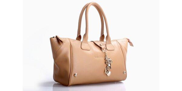 Krémová kabelka Belle & Bloom