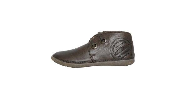 Dámské nízké hnědé boty Buggy