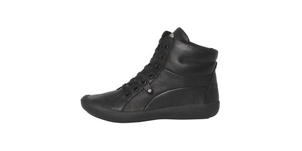Dámské černé šněrovací boty Buggy